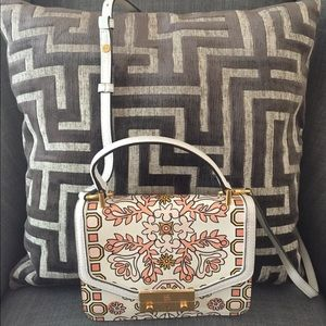 Tory Burch Floral Printed Crossbody